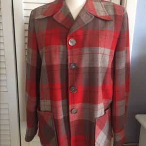 1940s True Vintage Pendleton Wool Jacket